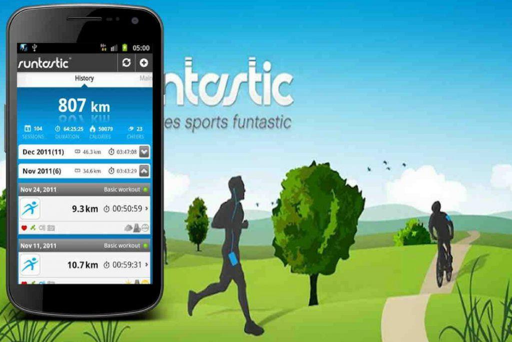 Runtastic app gratuite per nordic walking